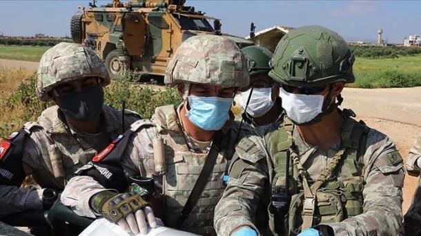 Siri – Përfundoi Patrullimi i 9-të i Përbashkët Tokësor turko-rus në Idlib | TRT  Shqip