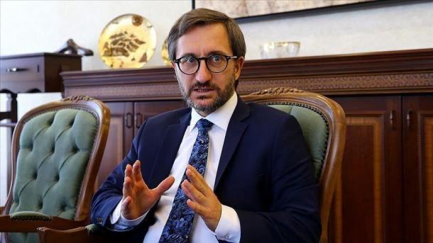 Fahrettin Altun: Pushtimi i tokave palestineze nuk do të legjitimohet kurrë | TRT  Shqip