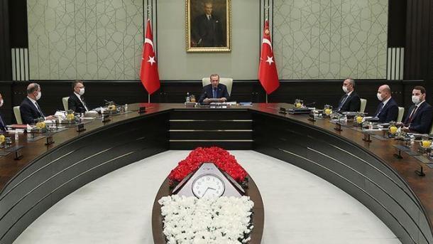 Këshilli i Sigurisë Kombëtare sot do të mblidhet nën kryesimin e Presidentit Erdogan | TRT  Shqip