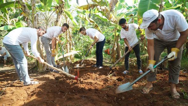 Turski studenti pružaju podršku Tanzaniji na polju ratarstva