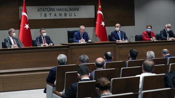 Erdogan: Le të punojmë së bashku për njohjen e Kosovës   TRT  Shqip