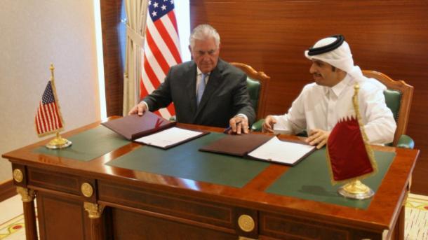 SAD i Katar potpisale sporazum o borbi protiv terorizma