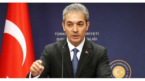 """Turqia i përgjigjet Francës për """"vijën e kuqe"""": Do të përballeni me qëndrimin tonë të vendosur   TRT  Shqip"""