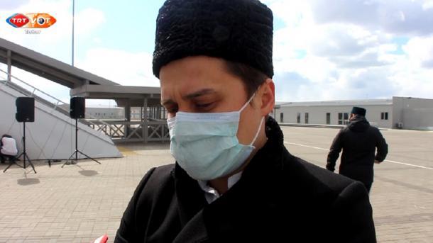 Tatarstanda pandemiya şartlarında iftar aşı   TRT  Tatarça
