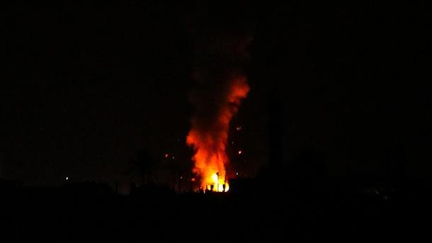 Izraeli sulmon nga ajri Rripin e Gazës | TRT  Shqip