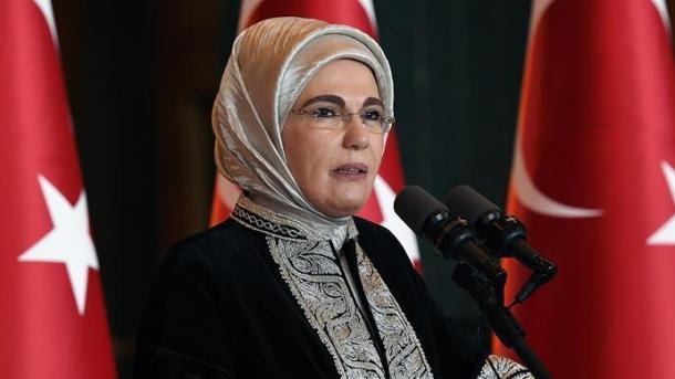 پیام نوروزی همسر رئیس جمهوری ترکیه