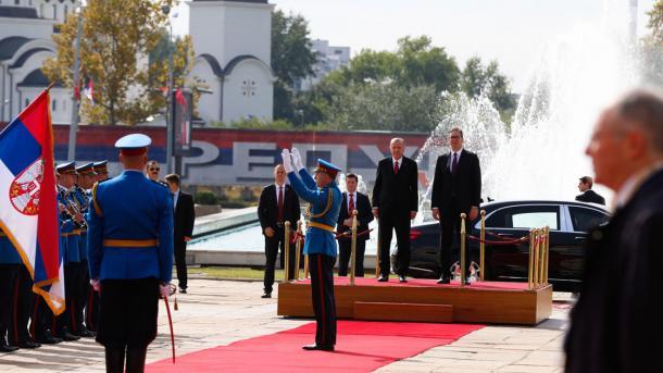 Presidenti Erdogan fillon vizitën zyrtare në Serbi   TRT  Shqip