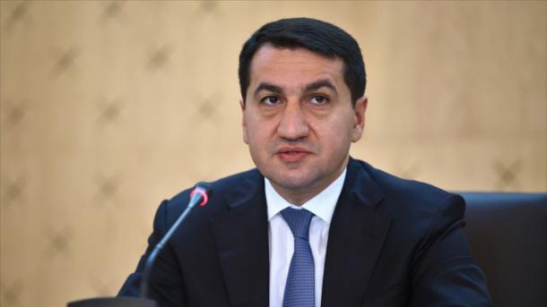 Hajiyev: Armenia përdor terroristët e PKK-së në vijën e parë të frontit | TRT  Shqip