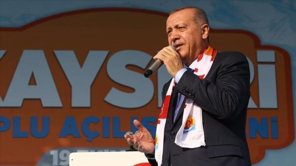 Erdogan: Operacioni do të vazhdojë nëse terroristët nuk tërhiqen brenda 120 orësh | TRT  Shqip