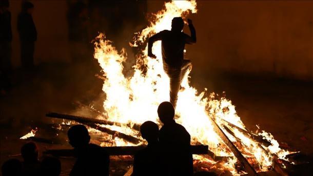 """فرارسیدن """"شب چهارشنبه باد"""" در جمهوری آذربایجان"""