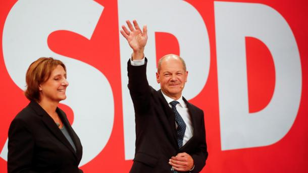 Zgjedhjet në Gjermani – Socialdemokratët mposhtin bllokun e Merkelit me diferencë të ngushtë | TRT  Shqip