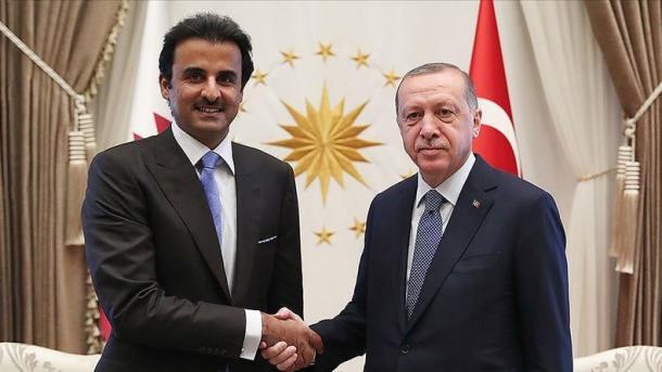 Erdogan zhvillon vizitën e parë jashtë shtetit në Katar pas shpërthimit të Covid-19 | TRT  Shqip
