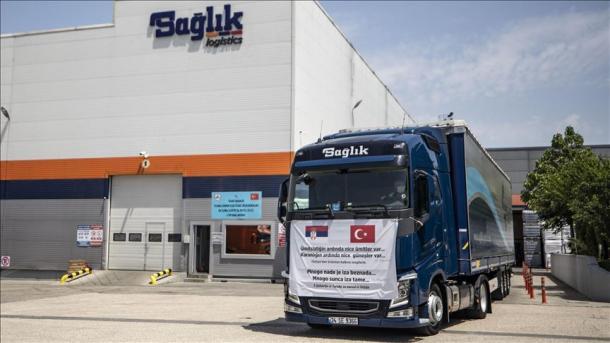Covid-19, Turqia ndihmon Sanxhakun me materiale mjekësore | TRT  Shqip
