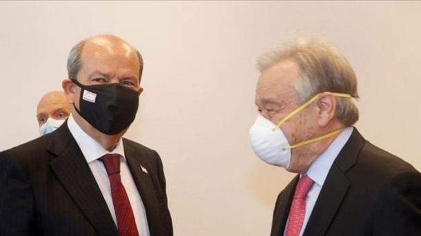 Lideri turkoqipriot do të takohet me Sekretarin e Përgjithshëm të OKB-së   TRT  Shqip