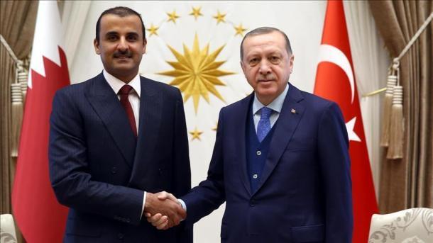 Erdogan telefonom razgovarao s katarskim emirom Al-Thanijem