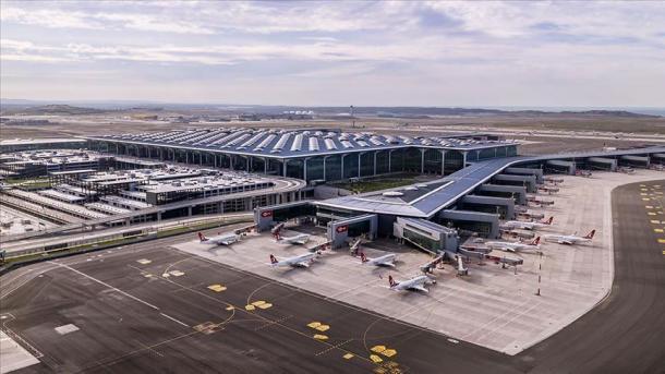 Aeroporti i Stambollit, lideri i Evropës në 4 muajt e parë të vitit | TRT  Shqip