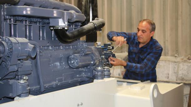Epidemia e koronavirusit rrit kërkesën për sektorin turk të makinerive | TRT  Shqip