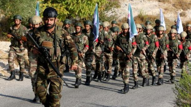 Ushtria Kombëtare Siriane (SNA) gati për Eufratin lindor | TRT  Shqip