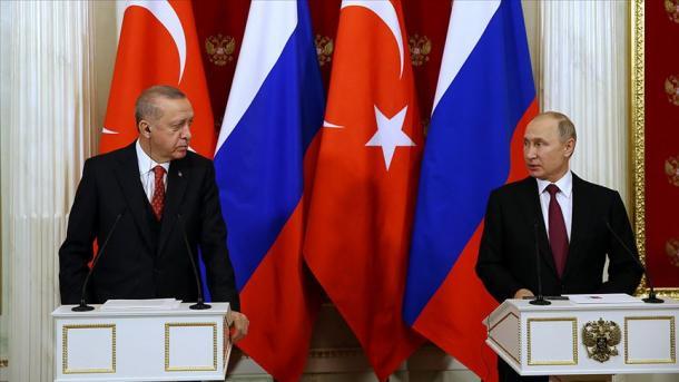 Turquie / Russie: quand l'idylle turco-russe fait des jaloux dans le monde (étude)