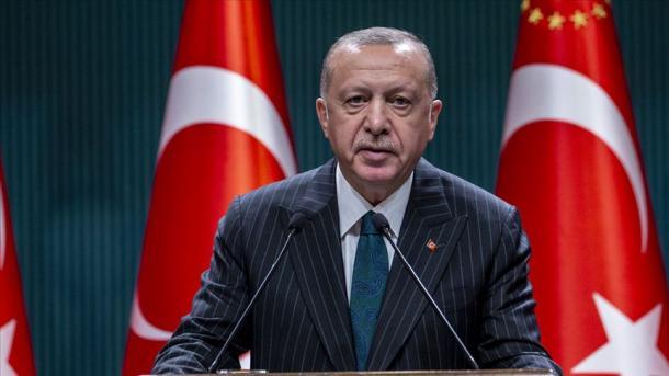 Presidenti Erdogan publikoi një mesazh me rastin 30 Gushtit, Ditës së Fitores | TRT  Shqip
