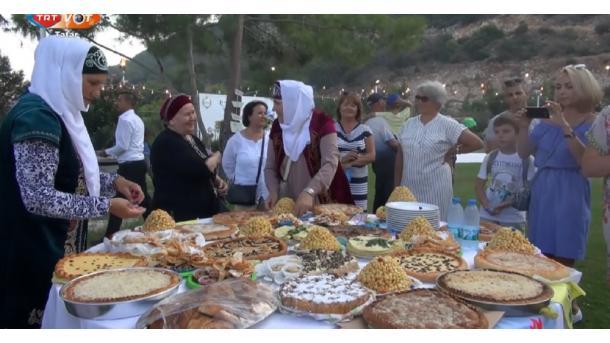 Antaliyada Sabantuy | TRT  Tatarça