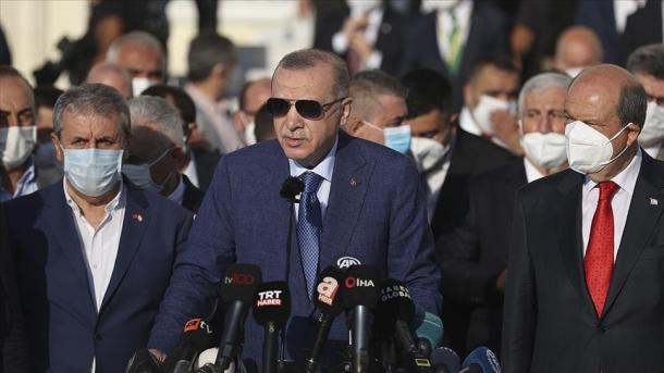 Erdogan: Mendojmë të shqyrtojmë administrimin e Aeroportit të Kabulit   TRT  Shqip