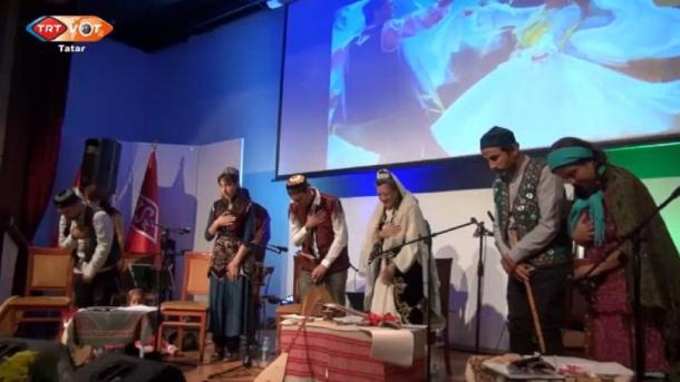 Törkiyä başqalası Änkarada tatar cır-moñnarı | TRT  Tatarça
