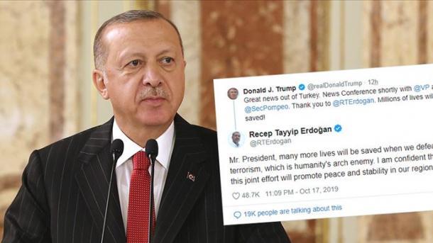 Erdogan i përgjigjet deklaratës së Trumpit | TRT  Shqip