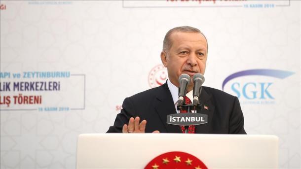 Erdogan: Është mungesë respekti të përcaktosh YPG-në dhe PYD-në si kurdë   TRT  Shqip