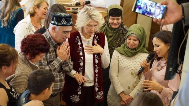 Änkarada Öçpoçmaq bäyräme | TRT  Tatarça