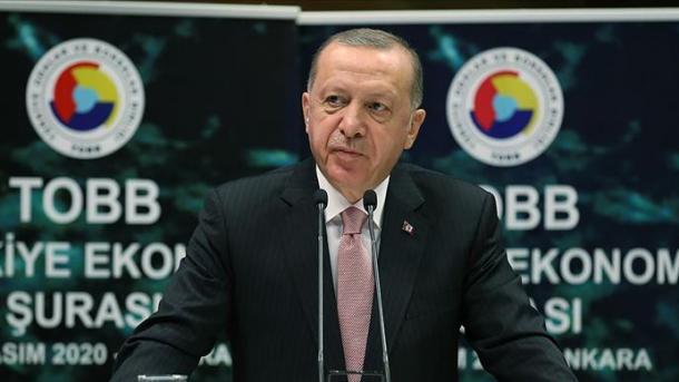 Erdogan: Turqia duhet të përqendrohet shumë më fuqishëm në prodhim, investim, punësim dhe eksport   TRT  Shqip