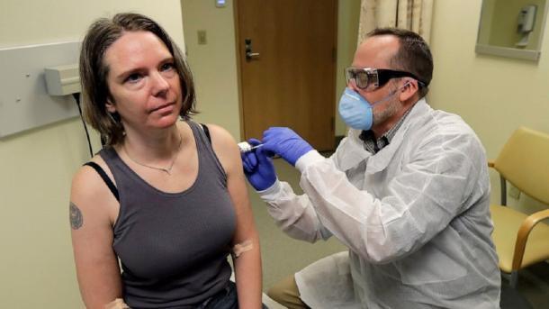 SHBA – Vaksina eksperimentale kundër koronavirusit testohet mbi një 43-vjeçare të shëndetshme | TRT  Shqip