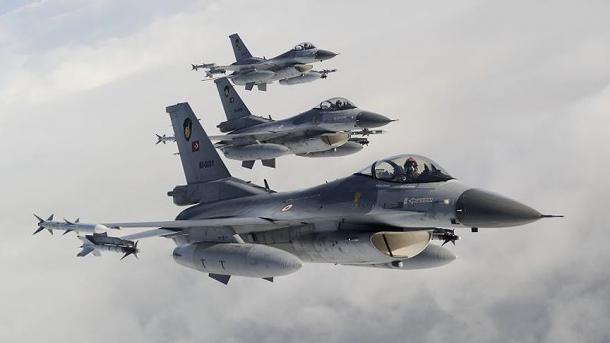 شمالی عراق  پر ترک فضائیہ کی کاروائی،دہشت گردوں کے متعدد ٹھکانے تباہ