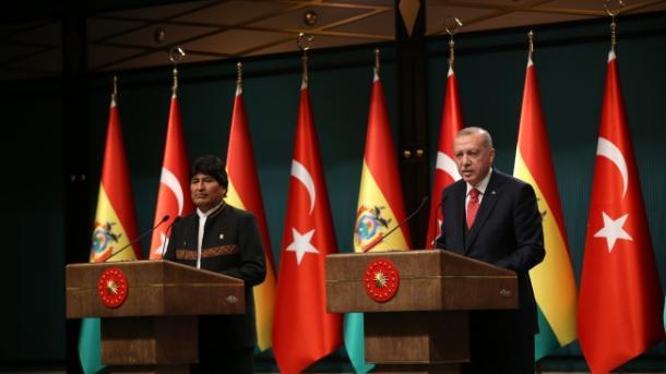 Erdogan pozdravio bolivijsku podršku Palestini