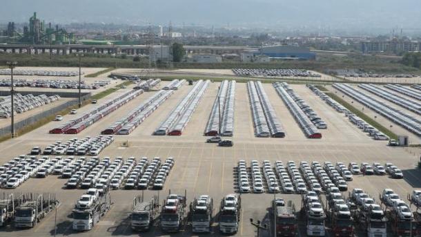 Sektori turk i automobilistikes realizon eksport në vlerë 13 miliardë dollarë   TRT  Shqip