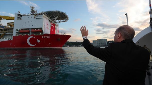 """""""Fatih"""" fillon sondazhet në lokacionin """"Turkali-1"""" të Detit të Zi   TRT  Shqip"""
