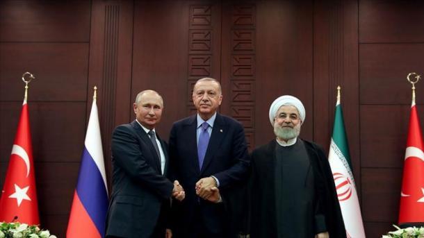 Turqia-Rusia-Irani rikonfirmojnë sovranitetin, pavarësinë dhe integritetin territorial të Sirisë | TRT  Shqip