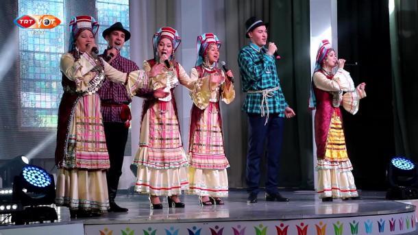 Татарстанда туган телләр кичәсе / Tatarstanda tuğan tellär kiçäse   TRT  Tatarça