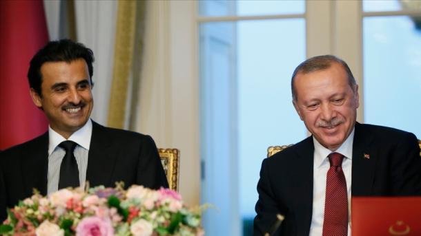 Mesazhi i Presidentit Erdogan pas takimit me Emirin e Katarit, Al-Thani | TRT  Shqip
