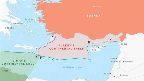 Turqia aplikon në OKB për të regjistruar paktin detar me Libinë | TRT  Shqip