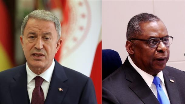 Akar-Austin bisedojnë në telefon për çështjet rajonale të mbrojtjes dhe Afganistanin | TRT  Shqip