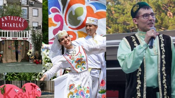 İstanbulda häm Antaliyada Sabantuylar | TRT  Tatarça