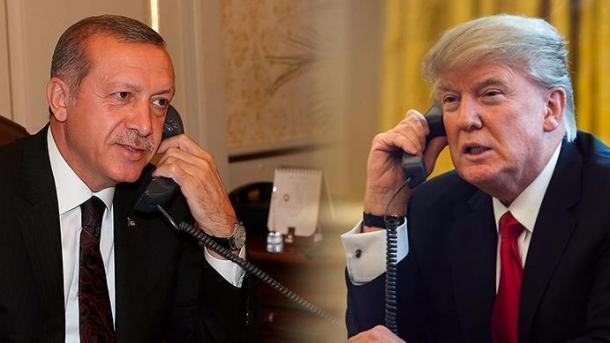 Erdogan dhe Trump diskutojnë marrëdhëniet bilaterale dhe zhvillimet rajonale | TRT  Shqip