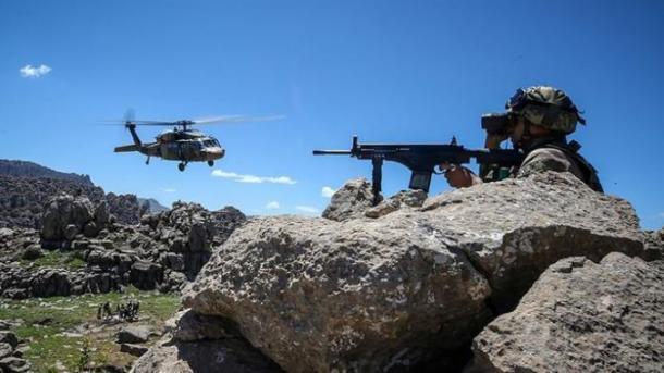Turqi - Operacionet për sigurinë e brendshme, neutralizohen 4 terroristë | TRT  Shqip