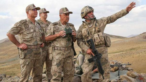 "Turqi – Vazhdon operacioni antiterror ""Kiran"" | TRT  Shqip"
