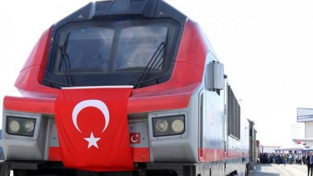 Nga Stambolli u nis treni i parë i eksportit që do të shkojë nga Turqia në Kinë | TRT  Shqip