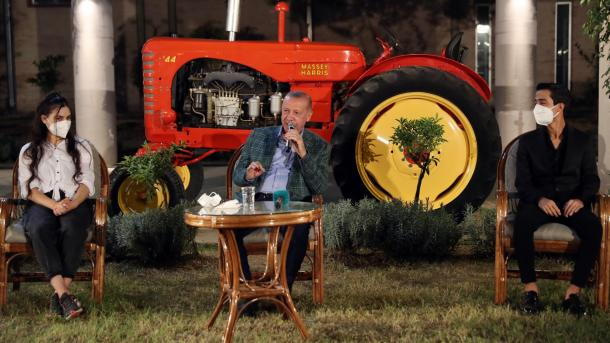 Erdogan: Ne filluam revolucionin për zhvillimin e gjelbër   TRT  Shqip