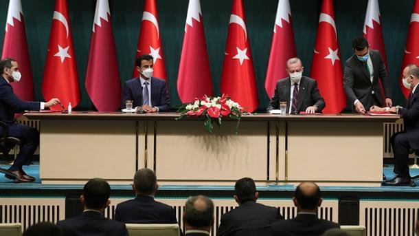 Al-Thani: Një vizitë e suksesshme në Turqi dhe një sërë bisedimesh me vëllain tim, Erdogan | TRT  Shqip