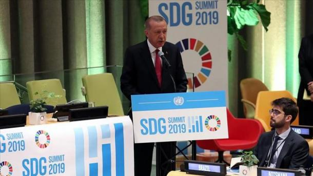 SHBA – Erdogani kërkon mbështetje ndërkombëtare për zhvillimin e qëndrueshëm dhe lindjen e Eufratit | TRT  Shqip