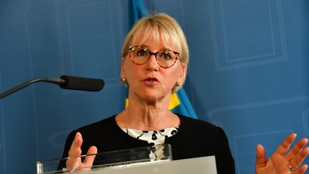 Suedi – Wallstrom: Jam krenare që kemi njohur Palestinën si shtet të pavarur